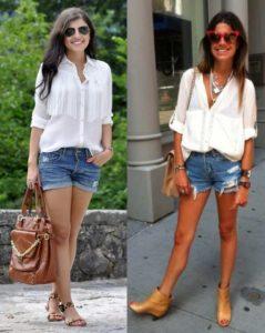 бедай блузка и шорты