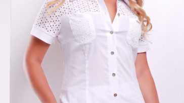 как уменьшить размер блузки на 1 размер