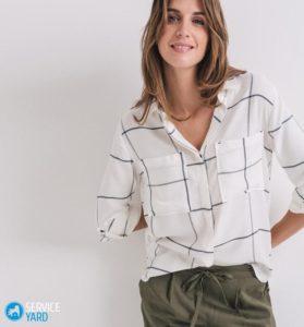 как уменьшить размер блузки